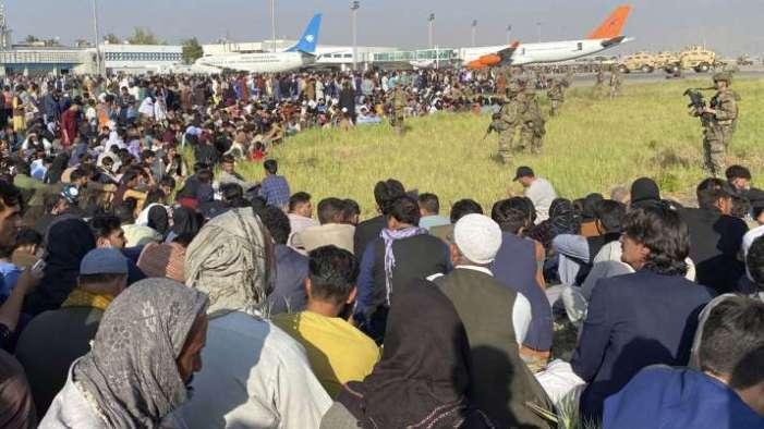 تازہ ترین :کابل ایئر پورٹ کے باہر فائرنگ کا تبادلہ، ایک شخص ہلاک