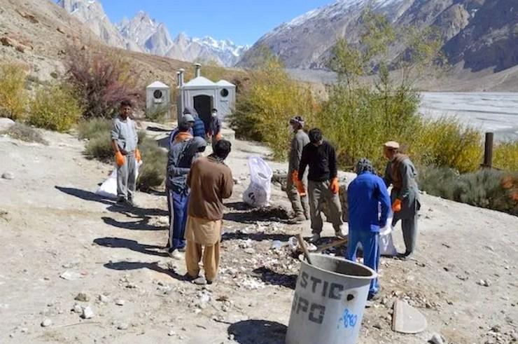 Karakoram Highway Hunza Gojal Huts