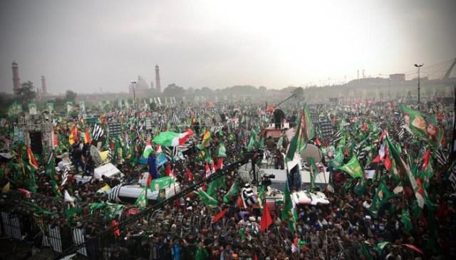 پاکستان ڈیموکریٹک موومنٹ کا لاہور میں بھرپور عوامی طاقت کا مظاہرہ 9