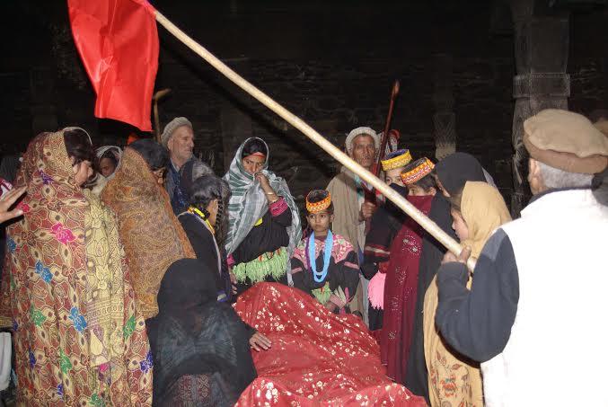 ١٢٠ سالہ جوشاہ کیلاش کی میت کی تقریبات تین دن تک جاری رہیںگی