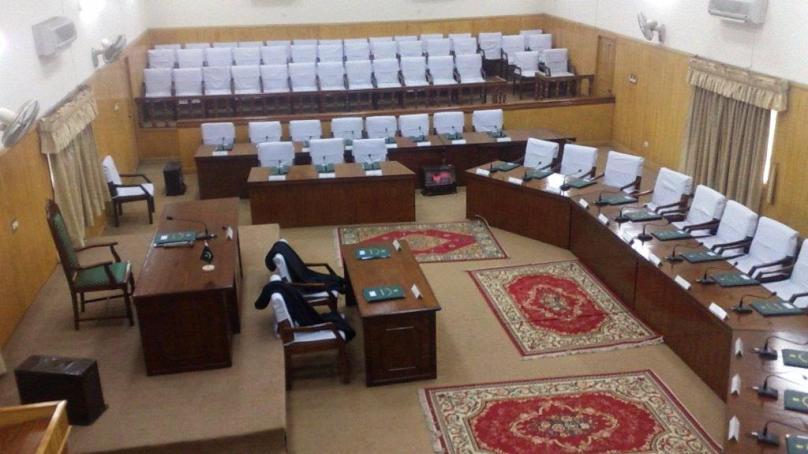 گلگت بلتستان قانون ساز اسمبلی میں فوج کیخلاف الزامات کی مذمت، حامد میر پرحملے کی تحقیقات کا مطالبہ