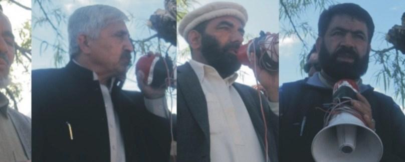انجمن امامیہ کا وفد جگلوٹ پہنچ گیا، شعیہ اور سنی گھل مل گئے، 15 اپریل کو تاریخی دھرنا ہوگا