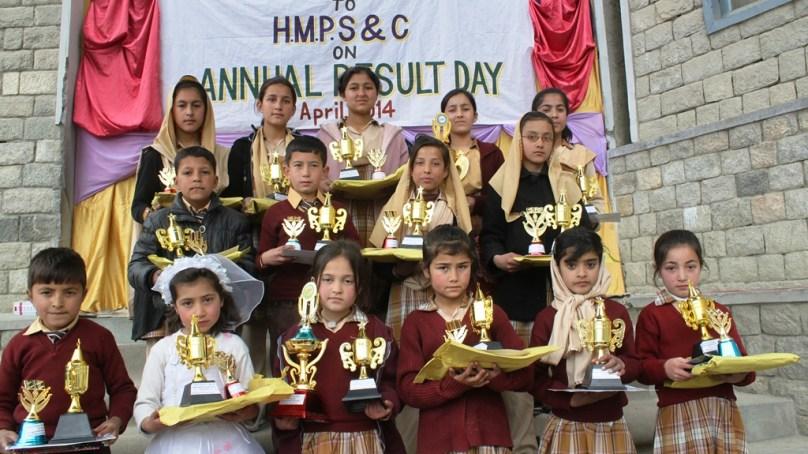ہنزہ: ہاسی گاوا میموریل پبلک سکول اینڈ کالج میں اعلان نتائج کی تقریب