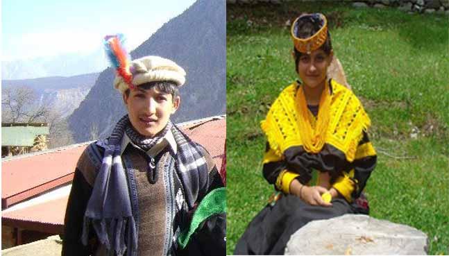 کیلاش خان باچا اورماریہ نے چیلم جوشٹ کے موقع پرزندگی کے ںئے سفرکاآغاز کردیا