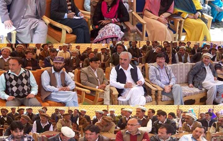 کریم آباد چترال میں صحت اور زراعت کے حوالے سے ایک روزہ سمینار