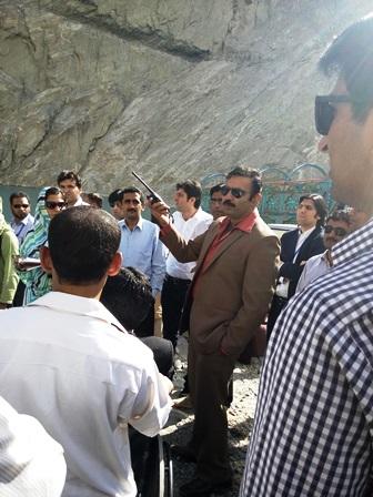 فارن سروس آف پاکستان کے زیر تربیت افسران نے عطاء آباد جھیل کا دورہ کیا