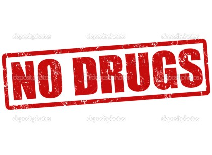 No drugs stamp