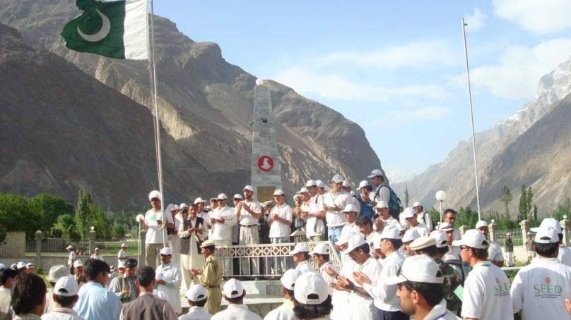 لالک جان شہید نشانِ حیدر کے مزار پر جشن آزادی کی تقریب منعقد، جنگِ آزادی گلگت بلتستان کے شہدا اور غازیوں کو خراجِ عقیدت پیش کیا گیا