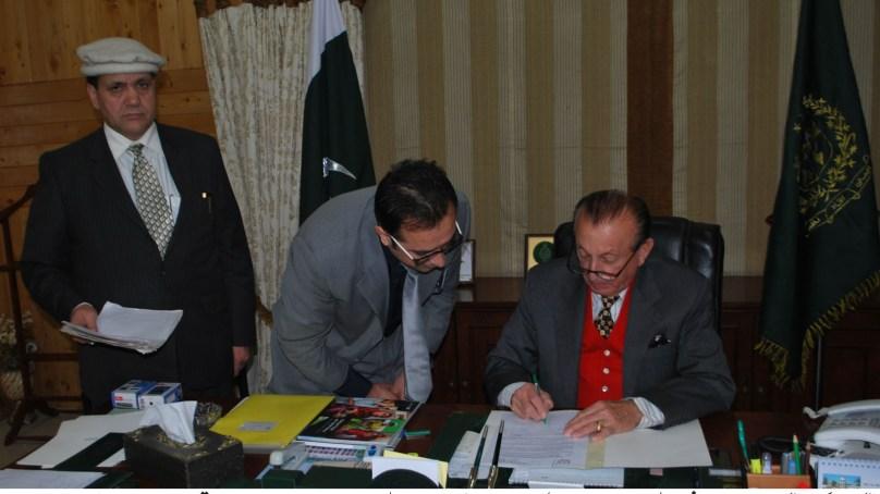 نمبرداری نظام کو مزید فعال بنانے کے لیئے موثر اقدامات کئے جائینگے، میر غضنفر علی خان