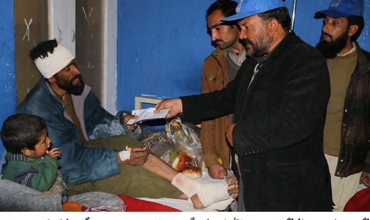 چلاس: الخدمت فاونڈیشن نے دیامر کے متاثرہ خاندانوں میں امدادی سامان تقسیم کی