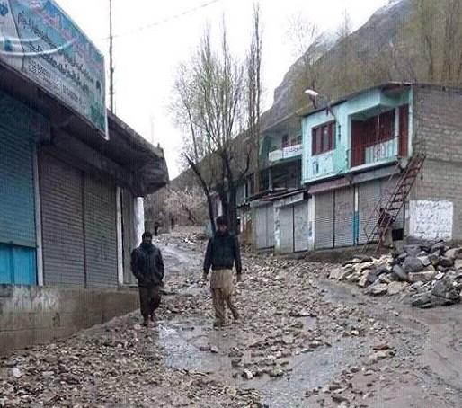 انتظامیہ کے پاس بحالی کے لئے وسائل نہیں ہیں، ضلع نگر میں عوام اپنی مدد آپ کے تحت کام کر رہے ہیں، حاجی رضوان علی رکن اسمبلی