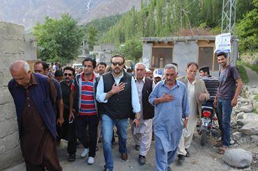 وزیر اعظم کے شکر گزار ہیں کہ وہ ہنزہ کی ترقی میں خصوصی دلچسپی لے رہے ہیں، شاہ سلیم خان نامزد امیدوار پاکستان مسلم لیگ