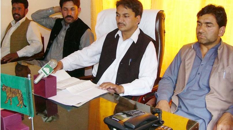 وزیر اعلی نے گانچھے کے لئے 12 کروڑ روپے فراہم کئے ہیں، غلام حسین ایڈوکیٹ اور دیگر کا پریس کانفرنس