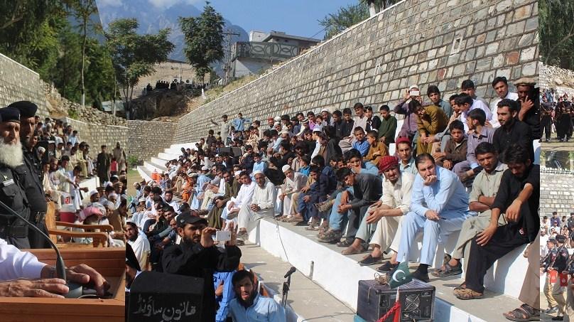 ایف سی گراونڈ کمیلہ کوہستان میں جشنِ آزادی پاکستان کے سلسلے میں پروقار تقریب کا انعقاد