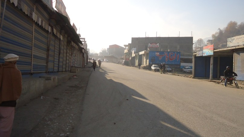طیارہ حادثے کی وجہ سے ضلع چترال کے مکین اداس اور غمگین، معمولات زندگی متاثر
