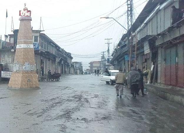 چلاس: مسلسل بارش سے لینڈ سلائیڈنگ کے واقعات میں اضافہ