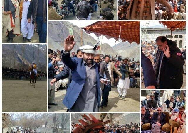 یاسین: قدیم ثقافتی تہوار جشن تخم ریزی میلہ پرامن انداز میں اختتام پزیرہوا