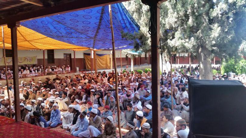 گلگت: جامعہ نصرۃ الاسلام میں سالانہ تقریب ختم مشکوٰۃو دستارفضیلت، سینکڑوں علماء کی شرکت