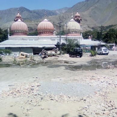 تاریخی شاہی مسجد چترال سے متصل پلازہ کی تعمیر پر سخت تشویش ہے، ڈائریکٹر آرکایوز اینڈ میوزیمز