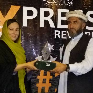 آن لائن اخبار چترال ایکسپریس کی تیسری سالگرہ کے موقعے پر تقریب منعقد، لکھاریوں میں ایوارڈز تقسیم کئے گئے