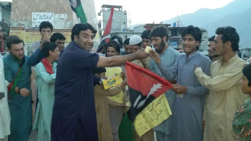 نگر اور کراچی میں پیپلز پارٹی کی جیت پر چلاس کے جیالوں کا جشن