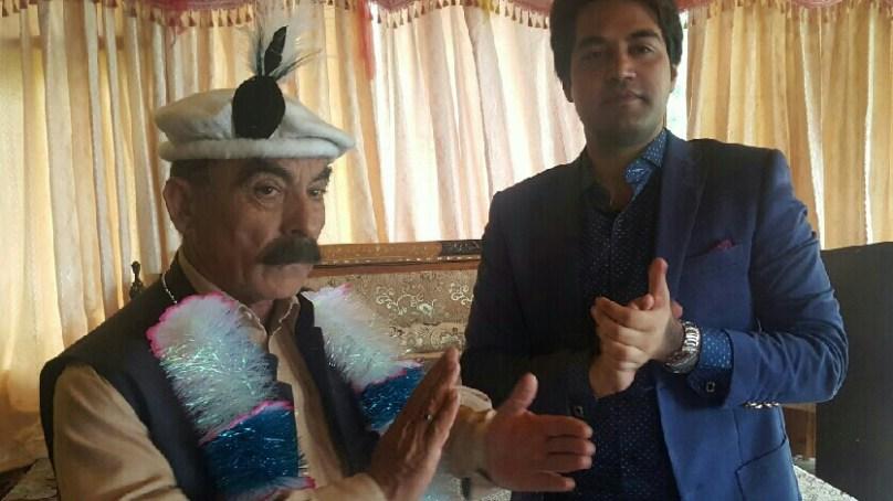 سبکدوش ہونے والے تحصیلدار گوجال، انور جمال کے اعزاز میں الوداعی تقریب منعقد