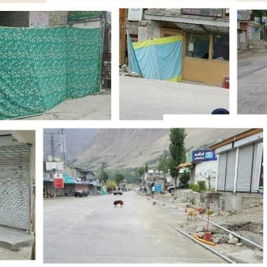 صدر کی آمد پر سخت سیکیورٹی، ہنزہ میں کرفیو کا سماں، عوام محصور، سڑکیں اور بازار بند
