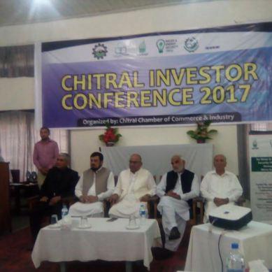 چترال میں اولین سرمایہ کاری کانفرنس کا انعقاد، چھُپے قدرتی خزائن ڈھونڈنے اور ان سے فائدہ اُٹھانے پر زور