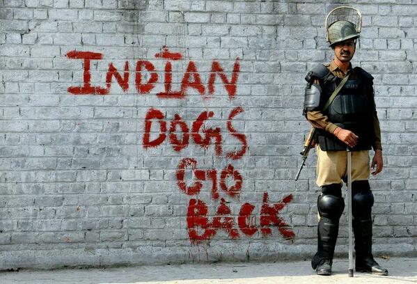 کشمیر بھارت کے ہاتھوں سے نکل چکا ہے