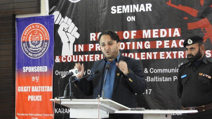 انتہا پسندی اور فرقہ واریت کو ختم کرنے کے لیے میڈیا کاکردار اہمیت کے حامل ہے، وزیرا علیٰ گلگت بلتستان