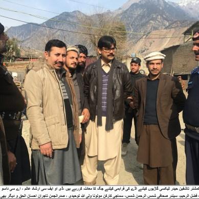 ضلع کوہستان کے شہر کمیلہ میں ٹیکسی سٹینڈ کا مسلہ ہو گیا، ٹریفک کا نظام بہتر ہونے کی امید