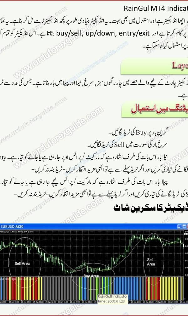 RainGul MT4 Indicator in Urdu