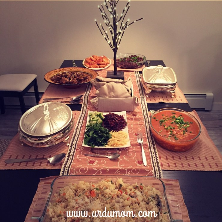 desi dinner