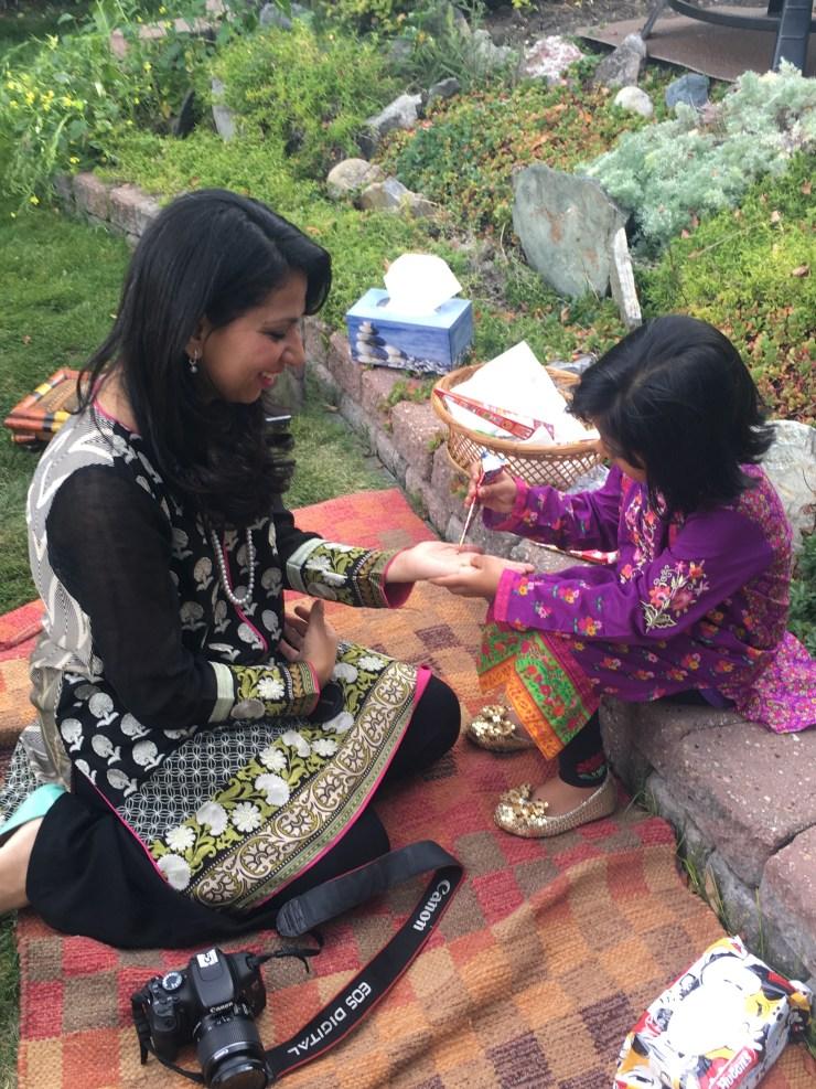 garden eid party