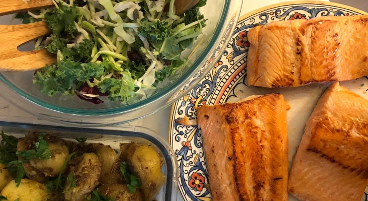 salmon recipe meal plan
