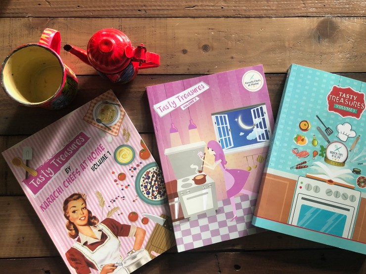 Recipe books by Karachi Chefs at Home