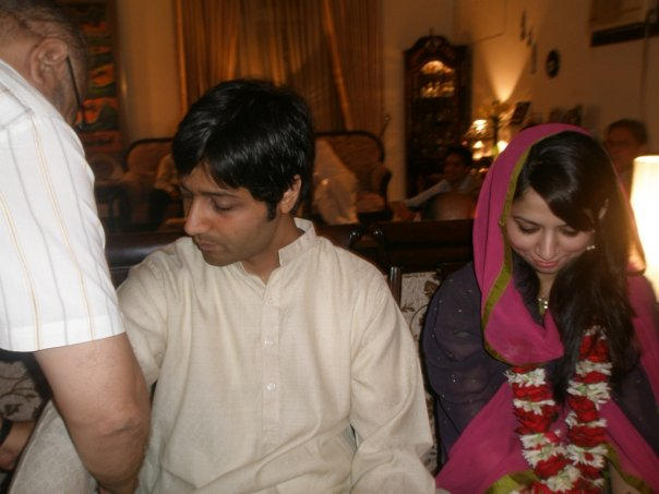 Our Engagement and Imam Zamin Ceremony Pictures Revisited