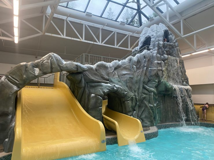 Kananaskis Mountain Lodge water slides