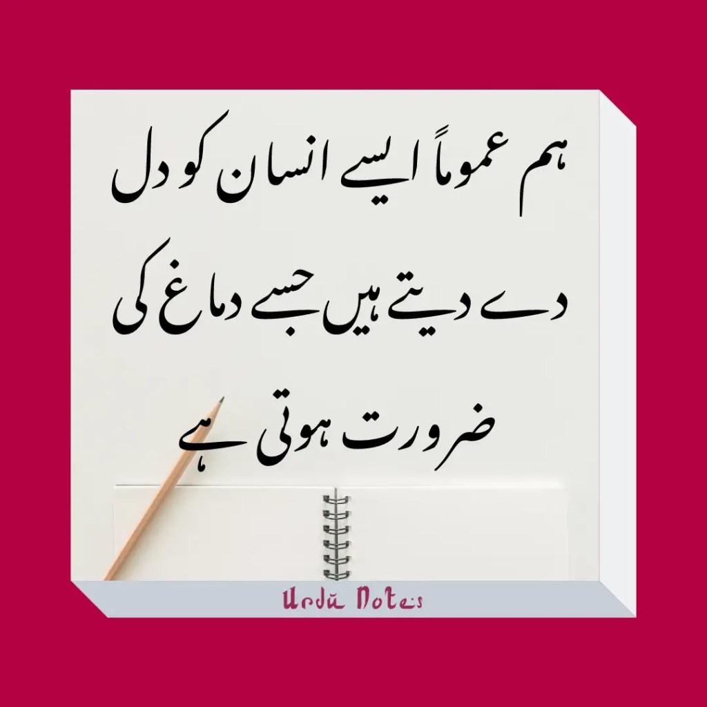 Funny Quotes In Urdu 1