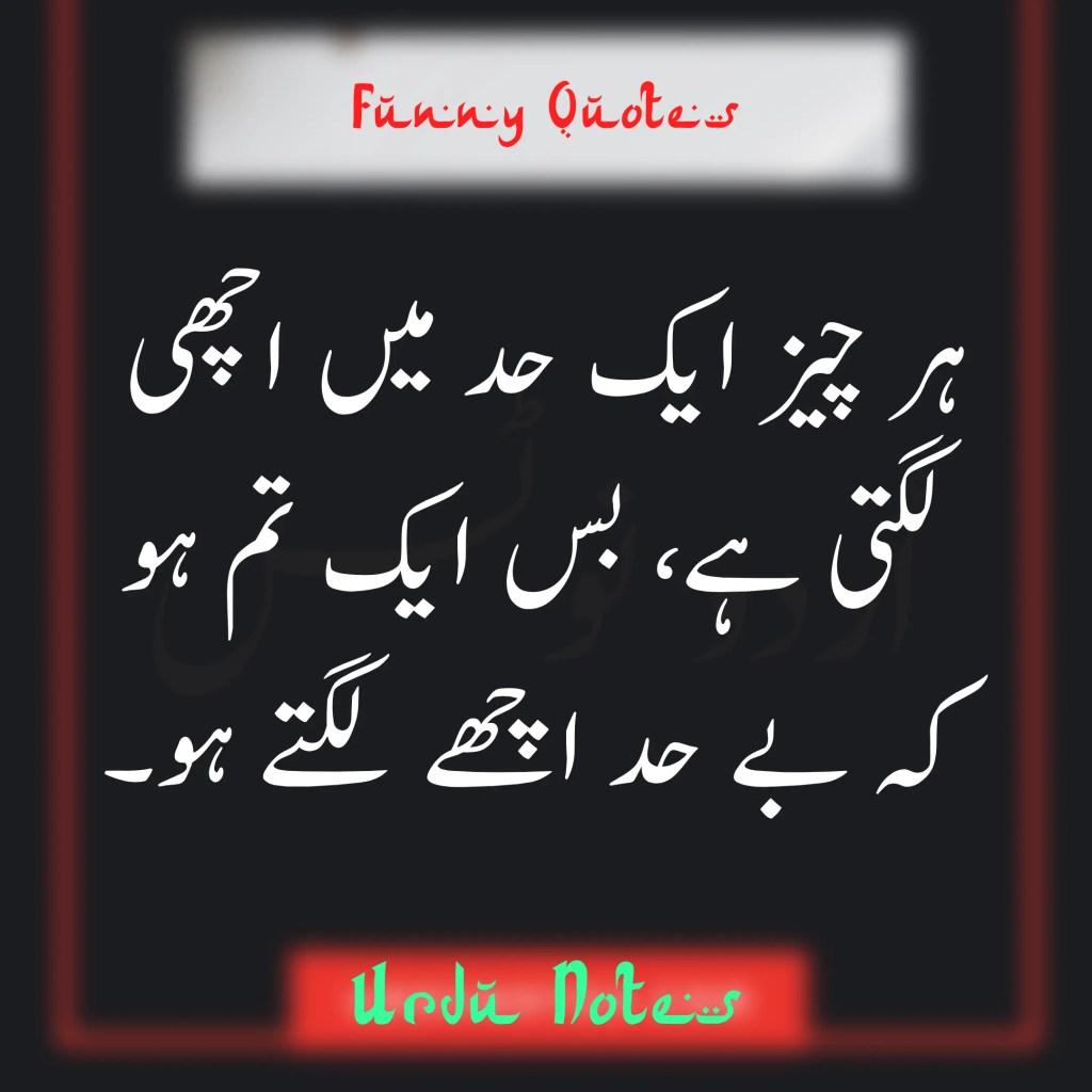 Funny Quotes In Urdu 8