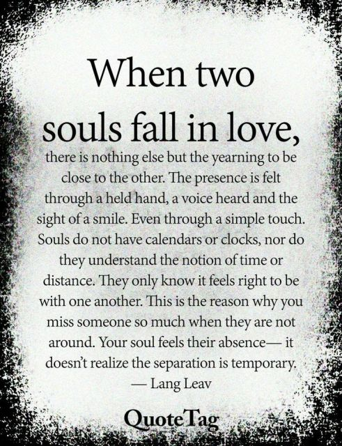 When two Souls Fall in Love | Love Quotes For Him | Quotes for lovers | Lover quotes Images - Urdu Poetry World