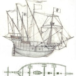 Columbus Ship Diagram 94 Ford Bronco Wiring Sailing Graphics Elsavadorla