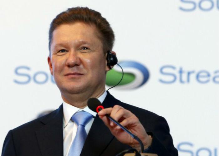 """Шефът на """"Газпром"""" Алексей Милер"""