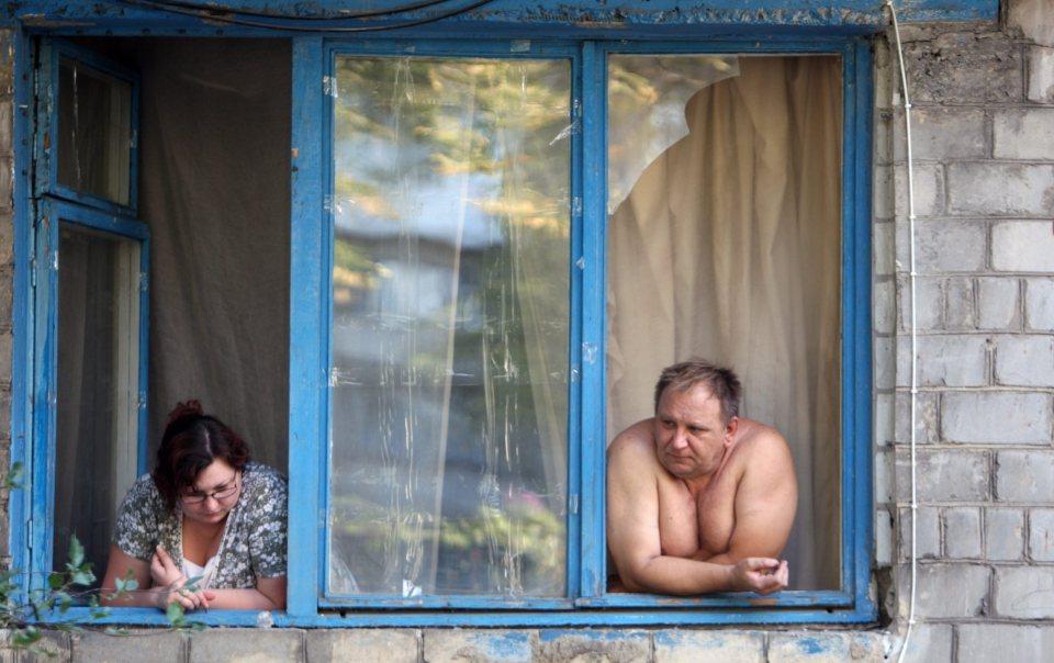 Източна Украйна. Животът продължава...