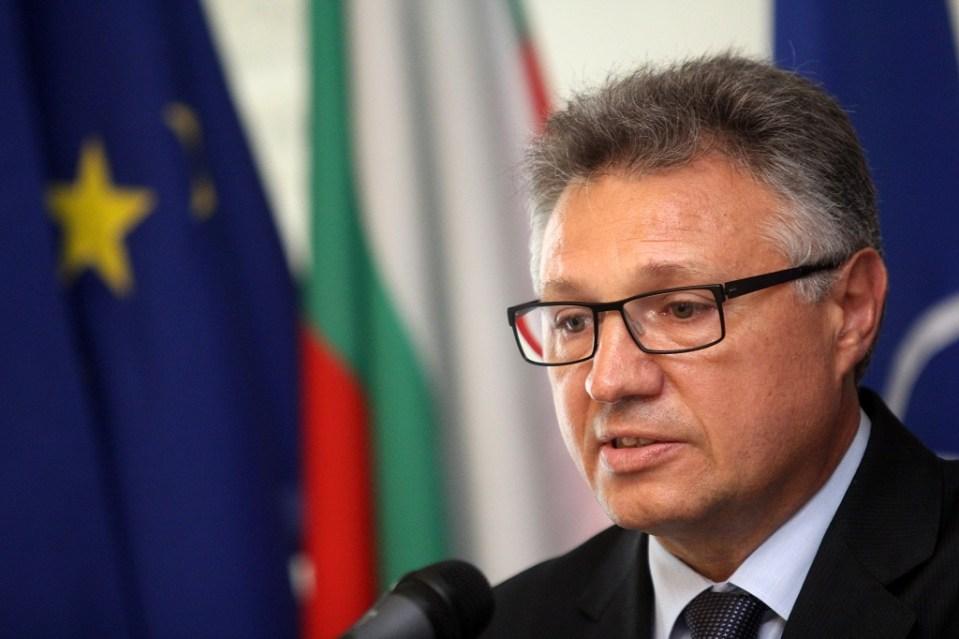 Министърът на отбраната Велизар Шаламанов. Снимка: БГНЕС