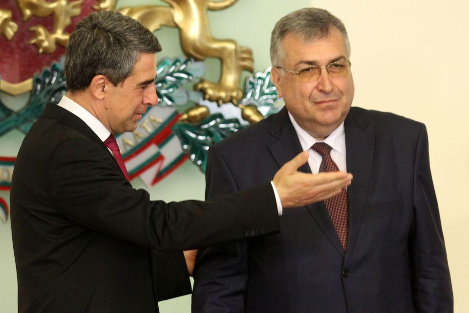 Президентът Росен Плевнелиев проф