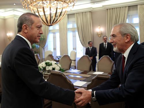 Снимка: Сайтът на турския президент