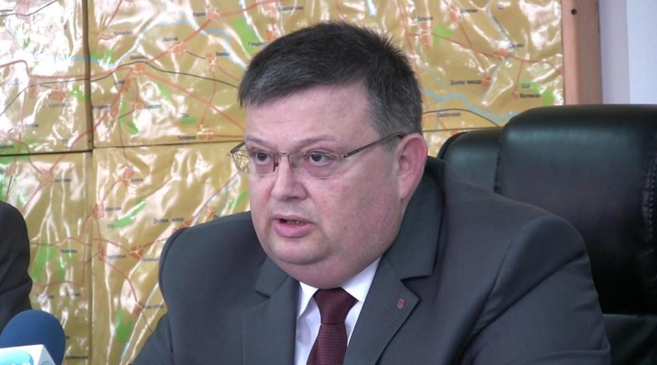 Главният прокурор Сотир Цацаров. Снимка: БГНЕС