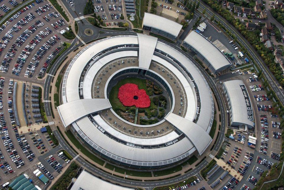 Централата на Центъра за правителствени комуникации на Великобритания (GCHQ) ©EPA/БГНЕС
