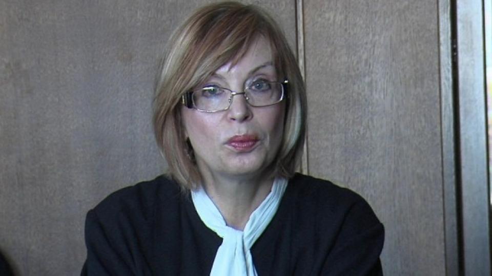 Съдия Румяна Ченалова. Снимка: БГНЕС